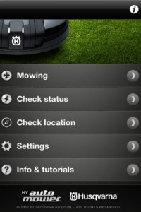 my automower iphone app